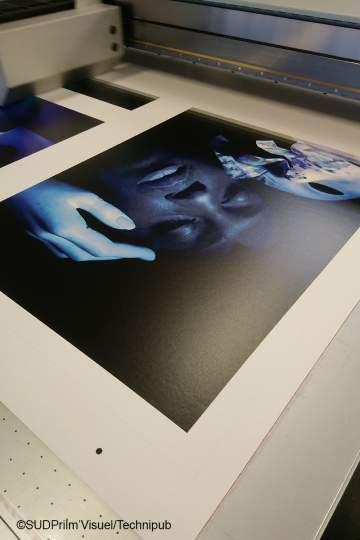 CKB Kraft Carton impression numérique HD qualité ART-Tirage en cours